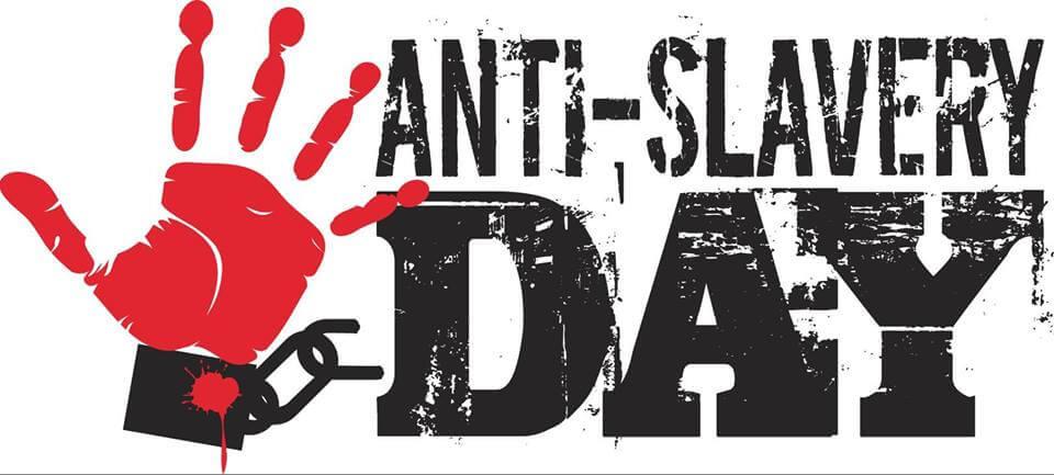 Anti slavery day